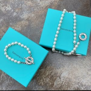 """Retired"" Tiffany Set of Pearls with Toggle Clasp"